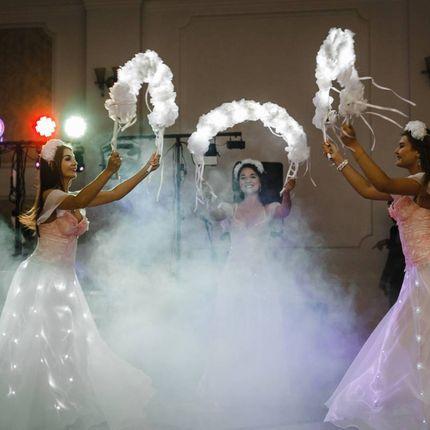 Сопровождение танца молодых