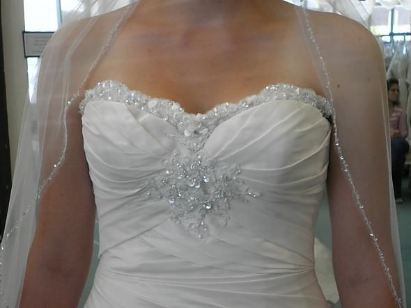 Свадебное платье из тафты - фото 8394144 Прокат платьев Svadebniespb