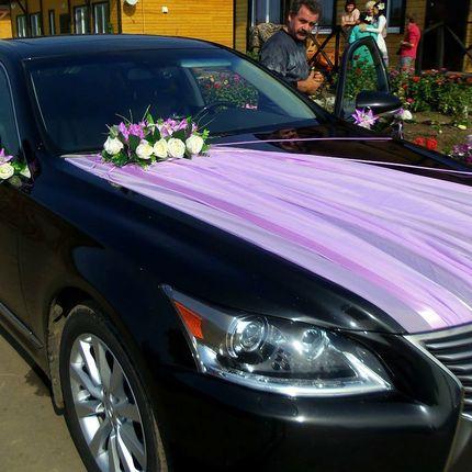 Оформление свадебных кортежей