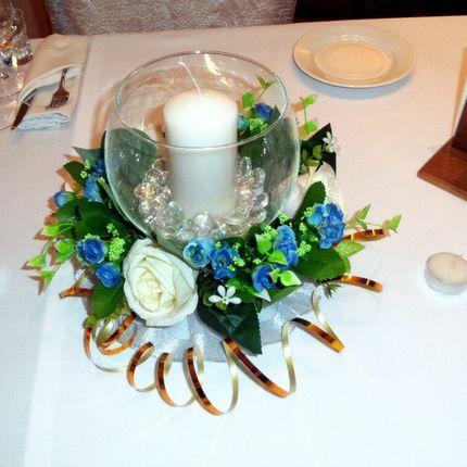 Украшения на столы для гостей
