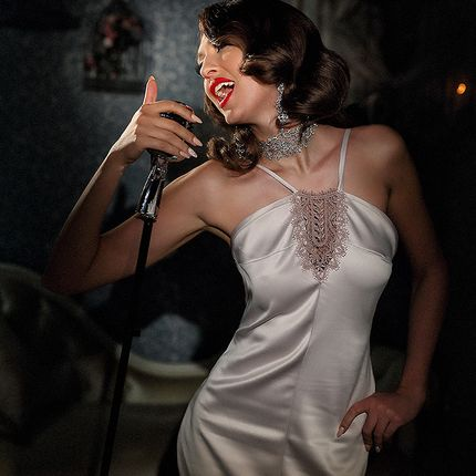 """Коктельное платье """"Розовый джаз"""""""
