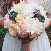 Свадебный букет невесты Анастасии.