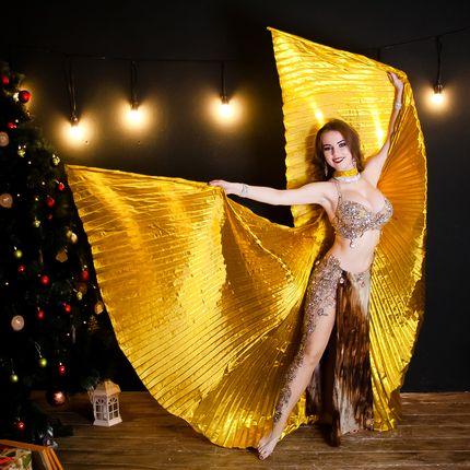 """Восточный танец с крыльями """"Золотая птица"""""""