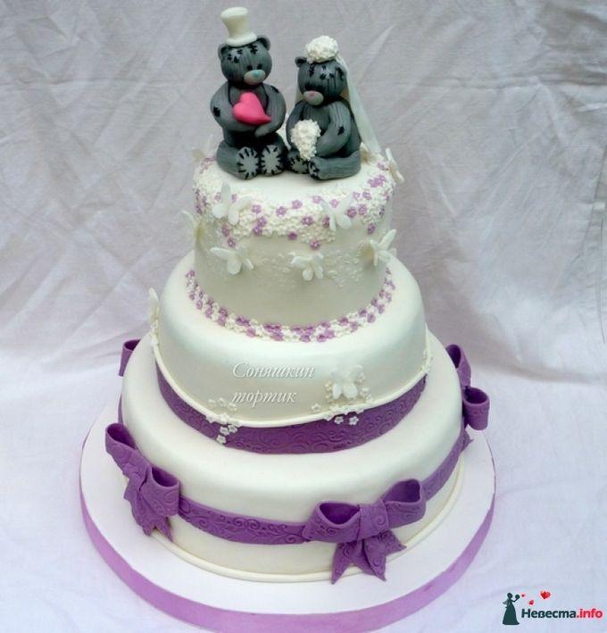 Свадебные торты с медвежатами фото и цены
