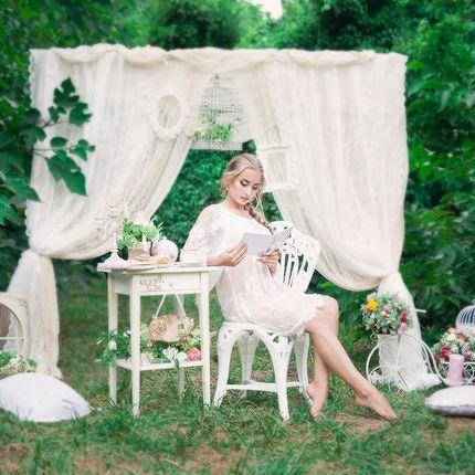 Оформление свадьбы по индивидуальному эскизу