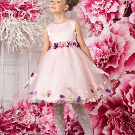 Цветочное детское платье на свадьбу