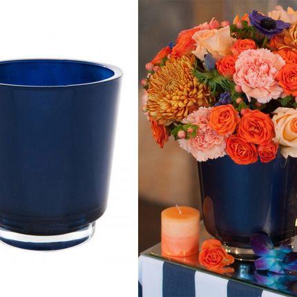 Аренда вазы синей, цена за 1 шт