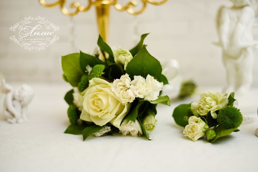 Фото 5652438 в коллекции Букет для подружки невесты - Лилис - салон флористики