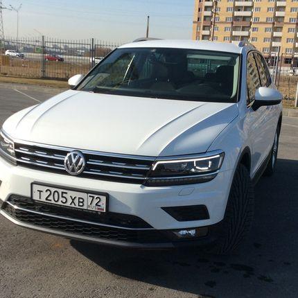 Аренда автомобиля VW Tiguan