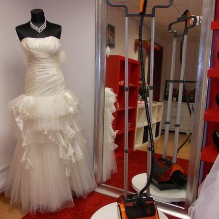Отпаривание свадебных платьев с выездом на дом