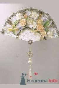 Букет-веер для невесты - фото 1826 leshechka