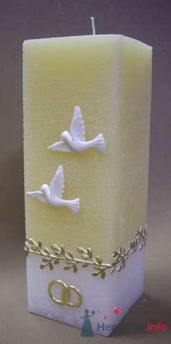 Фото 4620 в коллекции Свадебные свечи - leshechka