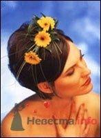 Фото 8323 в коллекции Прически с живыми цветами