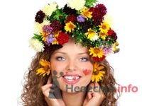 Фото 8326 в коллекции Прически с живыми цветами - leshechka