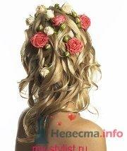 Фото 8329 в коллекции Прически с живыми цветами - leshechka