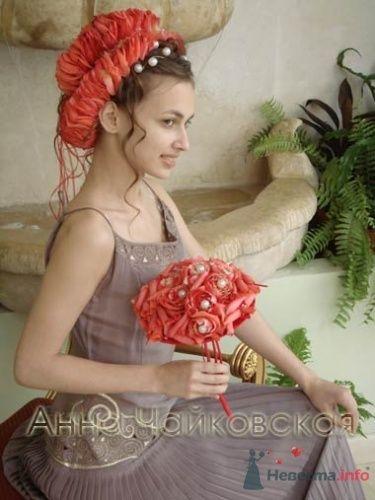 Фото 8333 в коллекции Прически с живыми цветами - leshechka