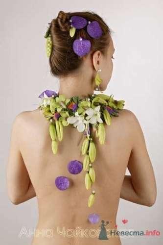 Фото 8335 в коллекции Прически с живыми цветами - leshechka