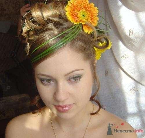Фото 8343 в коллекции Прически с живыми цветами - leshechka