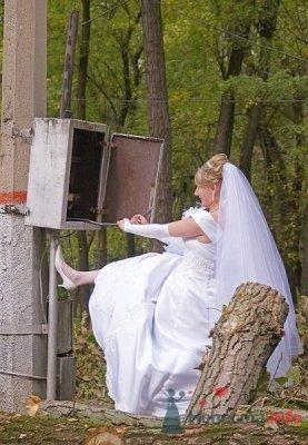 Фото 14067 в коллекции Свадебная фотография - leshechka