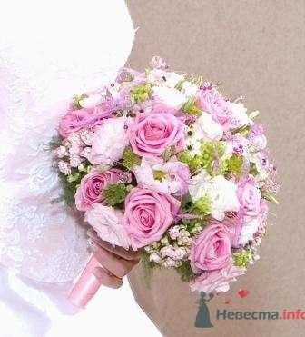 Букет круглый - фото 735 Флорист-дизайнер Екатерина