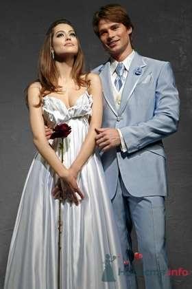 Свадебное платье David Fielden - фото 30451 Плюмаж - бутик выходного платья и костюма