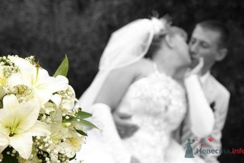Свадебный букет невесты из белых лилий. - фото 758 Delight Studio - фото и видео