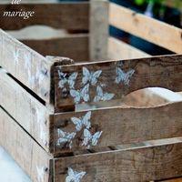 Ящик деревянный 30х50 высота 20 см