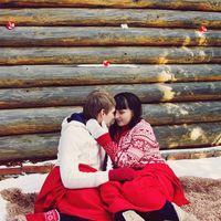зима красный лавстори вязаные свитера