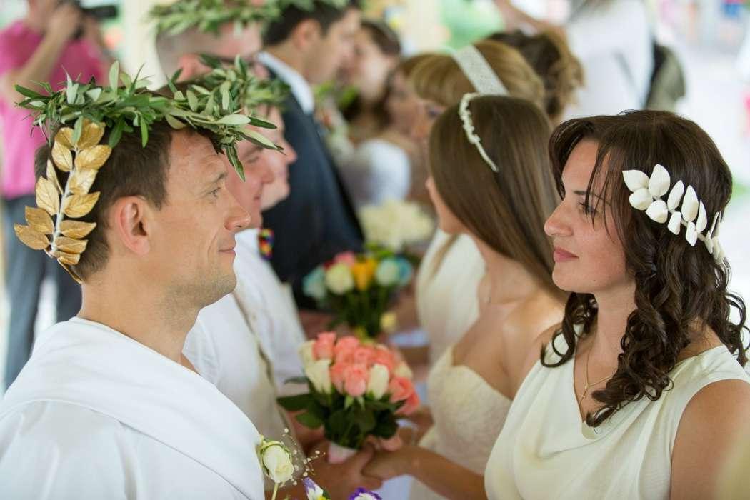 Картинки греческая свадьба