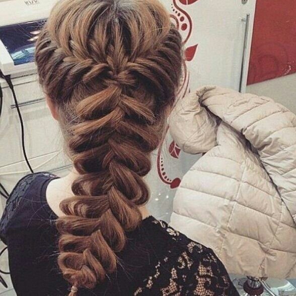 Красивые косы прически