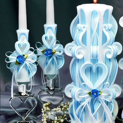 Комплект свадебных свечей Семейный Очаг
