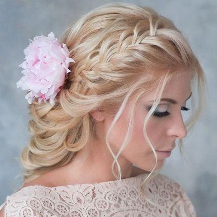 Плетение кос для невесты