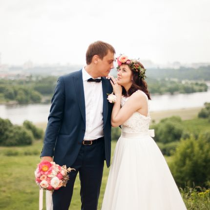 Свадебная съёмка полного дня