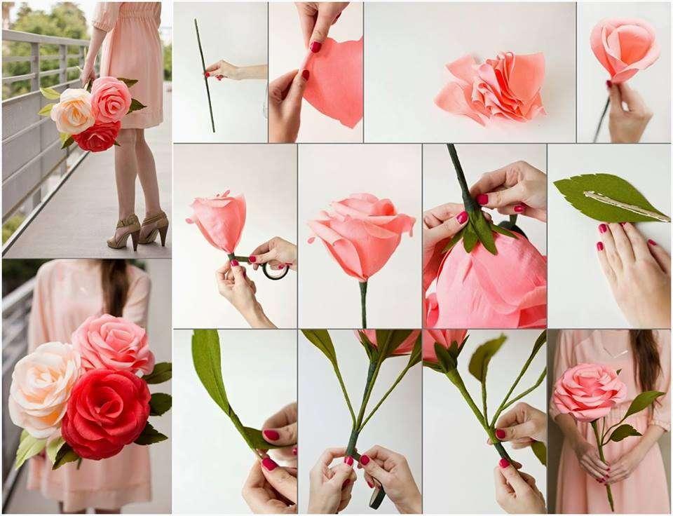 Как и из чего сделать искусственные цветы своими руками