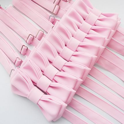 "Набор галстуки-бабочки ""Мята"" 7 штук"