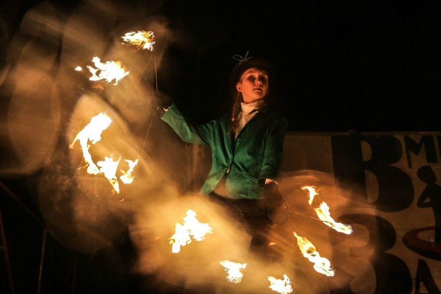 Фото 6060215 в коллекции Огненное (фаер) шоу - Творческий коллектив Огни большого города