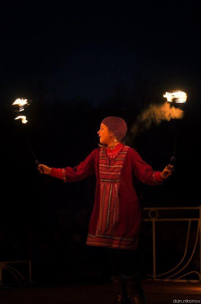 Фото 6060423 в коллекции Огненное (фаер) шоу - Творческий коллектив Огни большого города