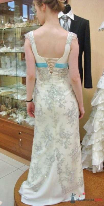 Платье №2, вид сзади - фото 26559 malysh_eva