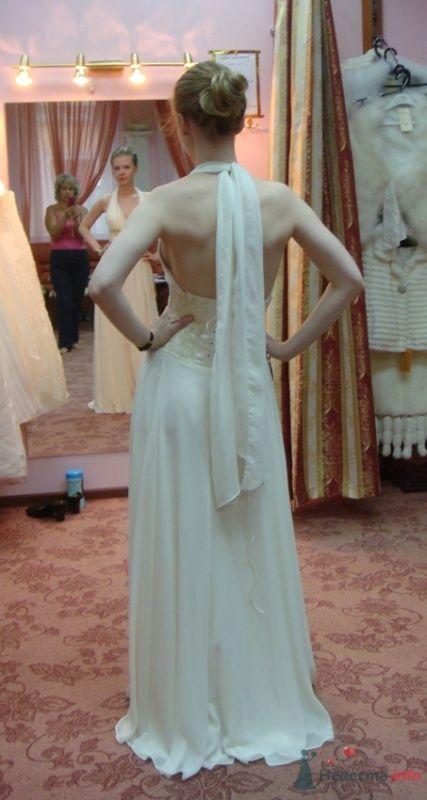 Платье №6, сзади
