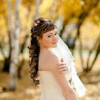 Свадебная прическа и макияж Марина Новоселова
