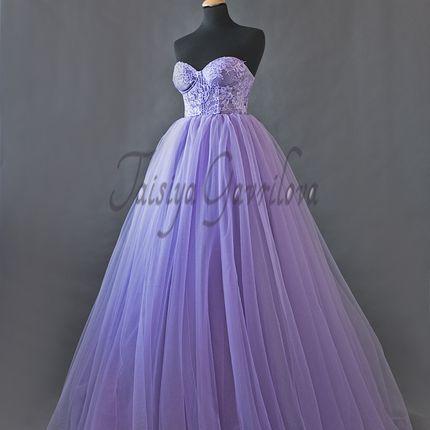 """Свадебное платье """"Цветы сирени"""""""