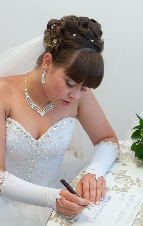 Фото 6221561 в коллекции Невесты - Парикмахер-визажист Белякова Наталья