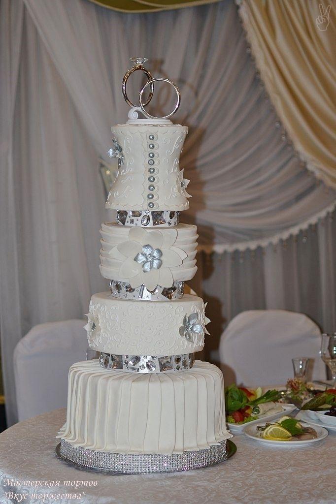 """Фото 6283675 в коллекции Свадебные торты - Мастерская тортов """"Вкус торжества"""""""