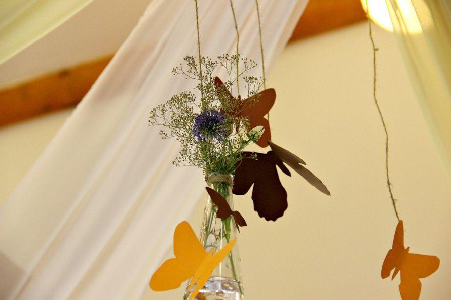 свадьбы в стиле рустик - фото 6351217 Студия декора Colibri