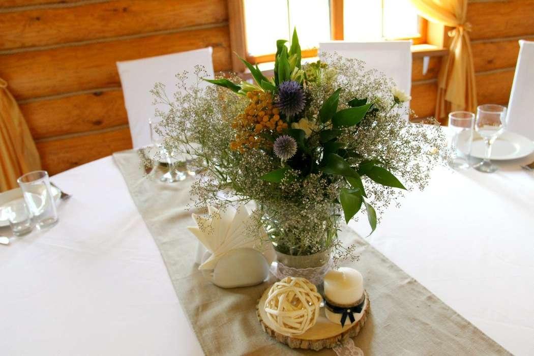 свадьбы в стиле рустик - фото 6351223 Студия декора Colibri