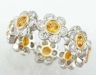 платина, желтое золото, сапфиры, бриллианты - фото 6456222 Национальный ювелирный дом