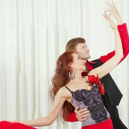 Дуэтный танец фламенко