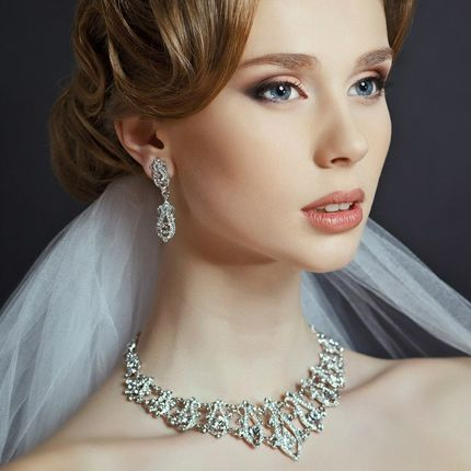 Пробный свадебный макияж