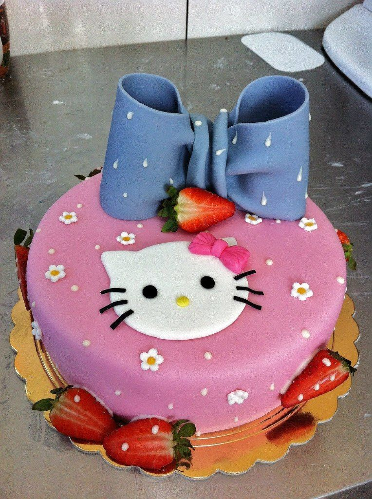 Коллекция детских тортов фото