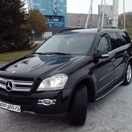 Аренда авто Mercedes-benz GL500 4 matic
